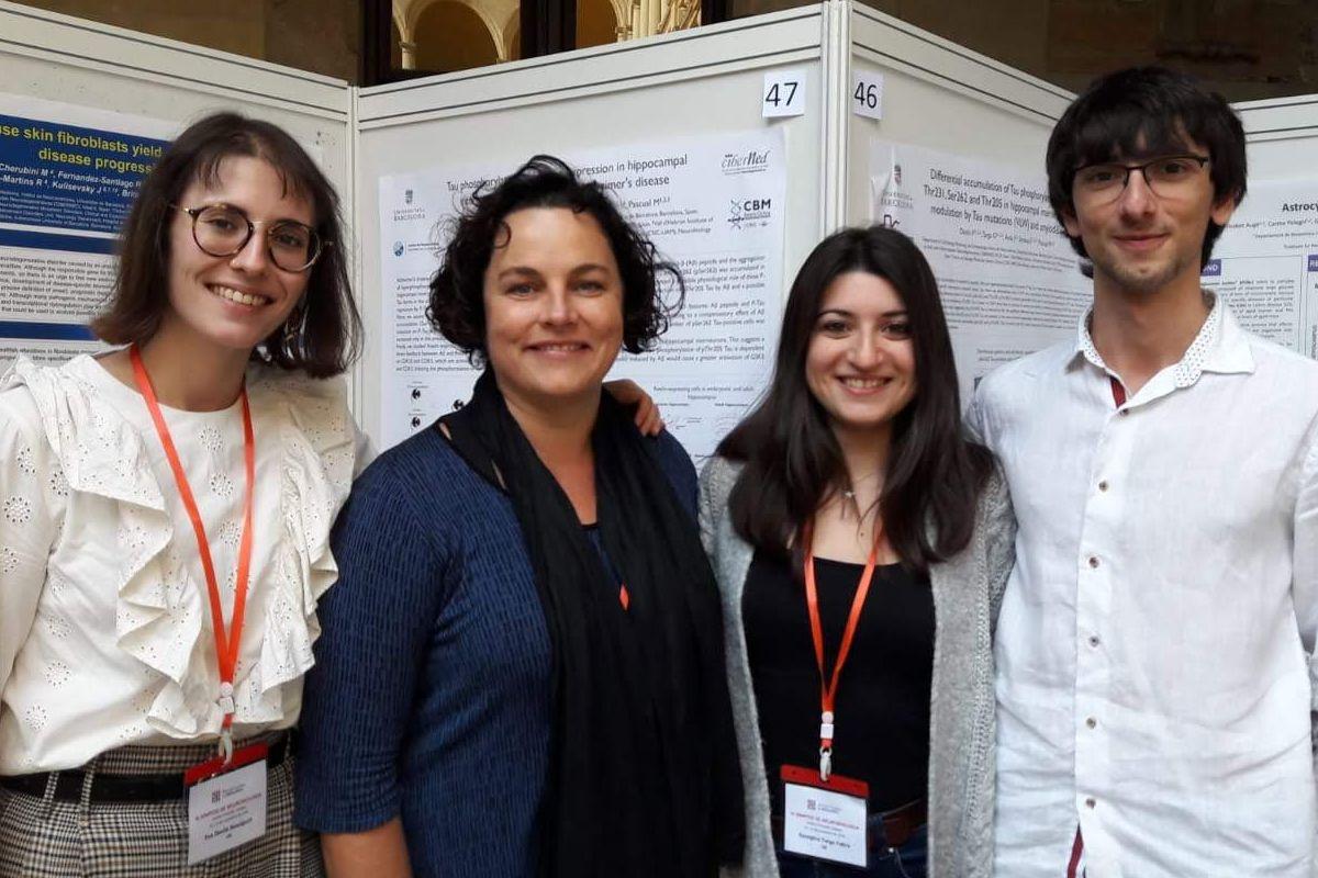 El modelo de ratón de Eva Dávila-Bouziguet, Marta Pascual, Georgina Targa-Fabra y Arnau Casòliba-Melich abre una nueva vía de investigación. Foto: UB