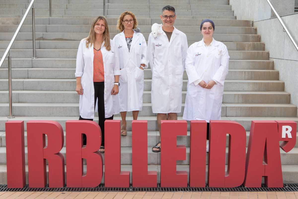 Con el grupo de investigación de Lérida han colaborado cient�ficos alemanes. Foto: IRBLLeida