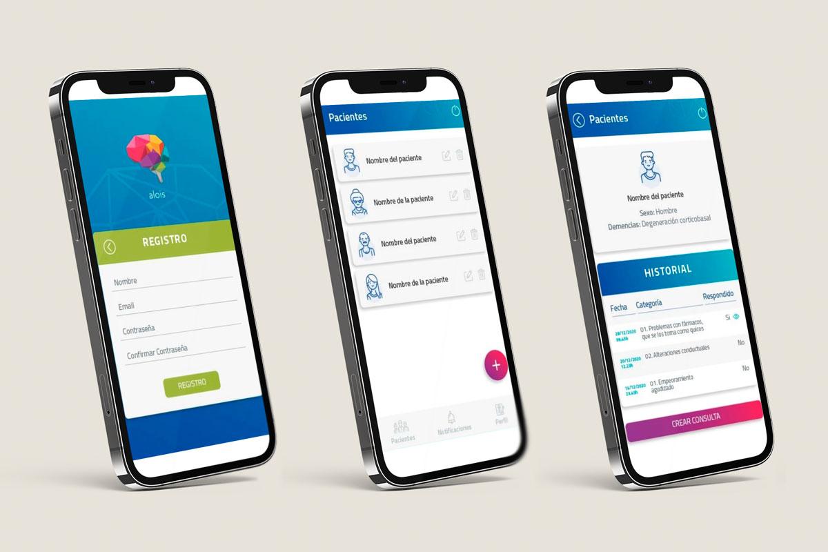 'Alois' es una 'app' que resuelve dudas de los cuidadores de pacientes con Alzheimer en un breve periodo de tiempo.