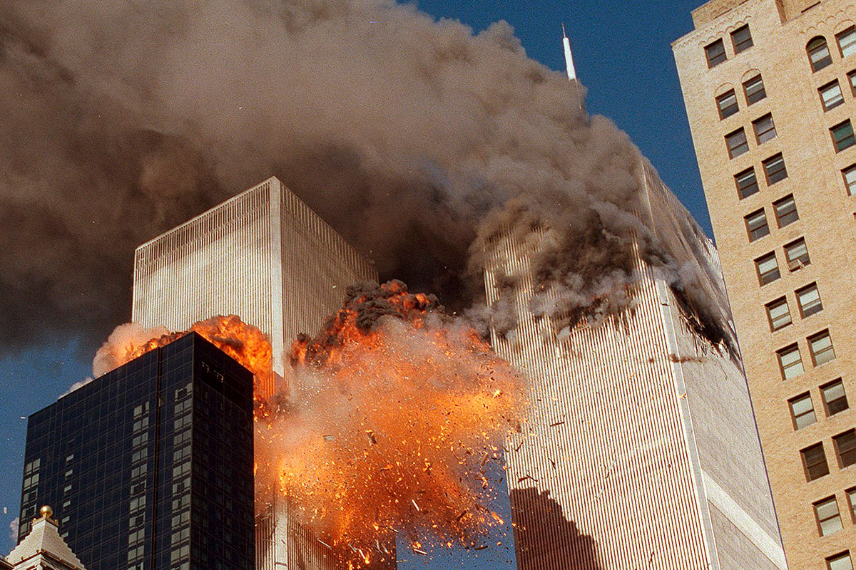 Atentado terrorista contra las Torres Gemelas de Nueva York el 11 de septiembre de 2001. /El Mundo.