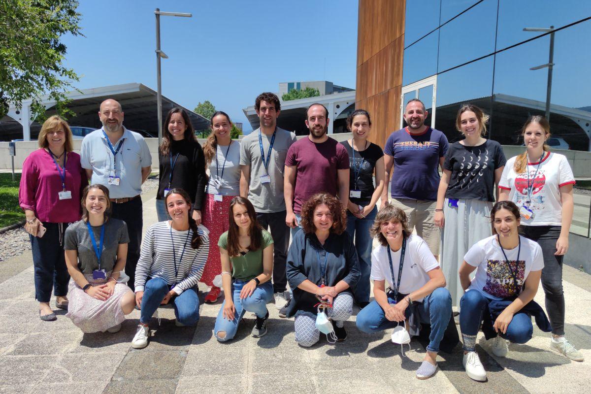 El equipo del CIC-Biogune, que ha llevado a cabo la investigación. FOTO: CIC-Biogune.