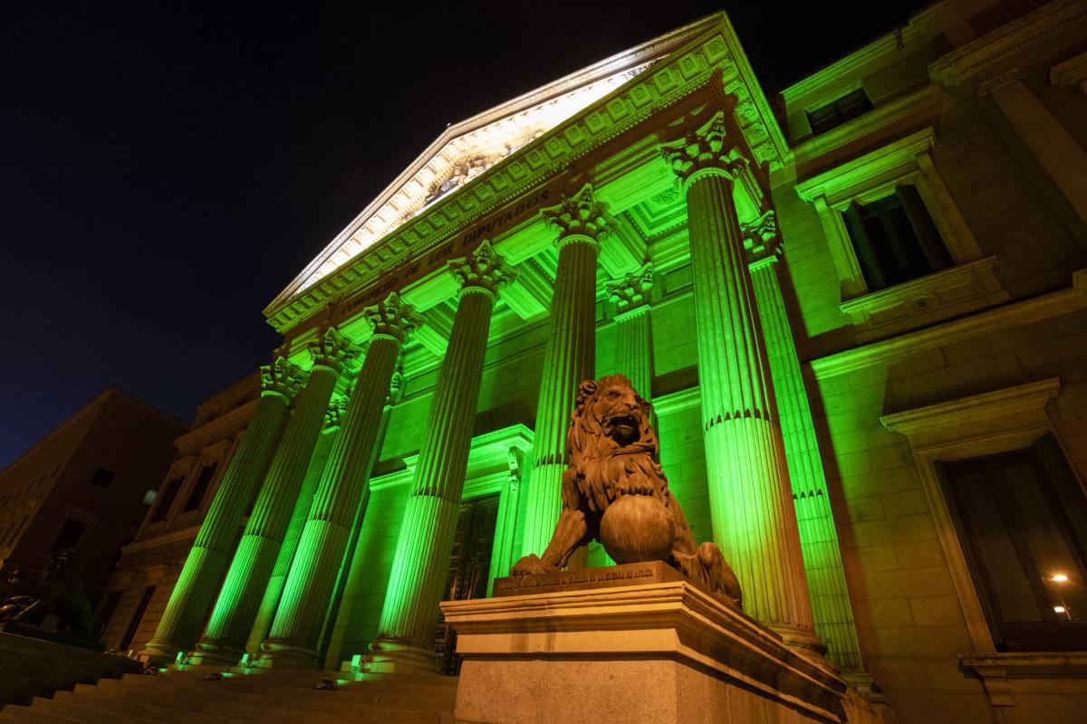 El Congreso de los Diputados se teñirá de verde para conmemorar el Día Mundial del Farmacéutico.