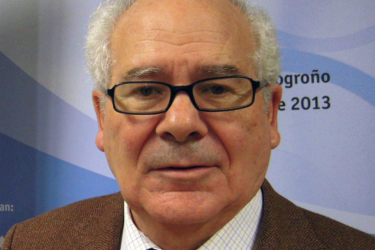 Enrique Villanueva Cañadas, expresidente de la Comisión Central de Deontología Medica del CGCOM y catedrático de Medicina Legal y Forense en una foto de archivo.