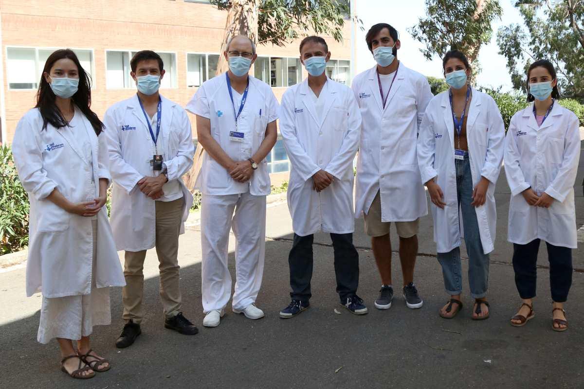 Investigadores del VHIR- CIBERCV responsables del estudio.
