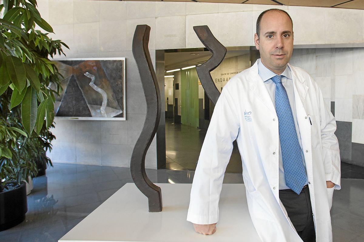 Javier Cortés, director del International Breast Cancer Center (IBCC).