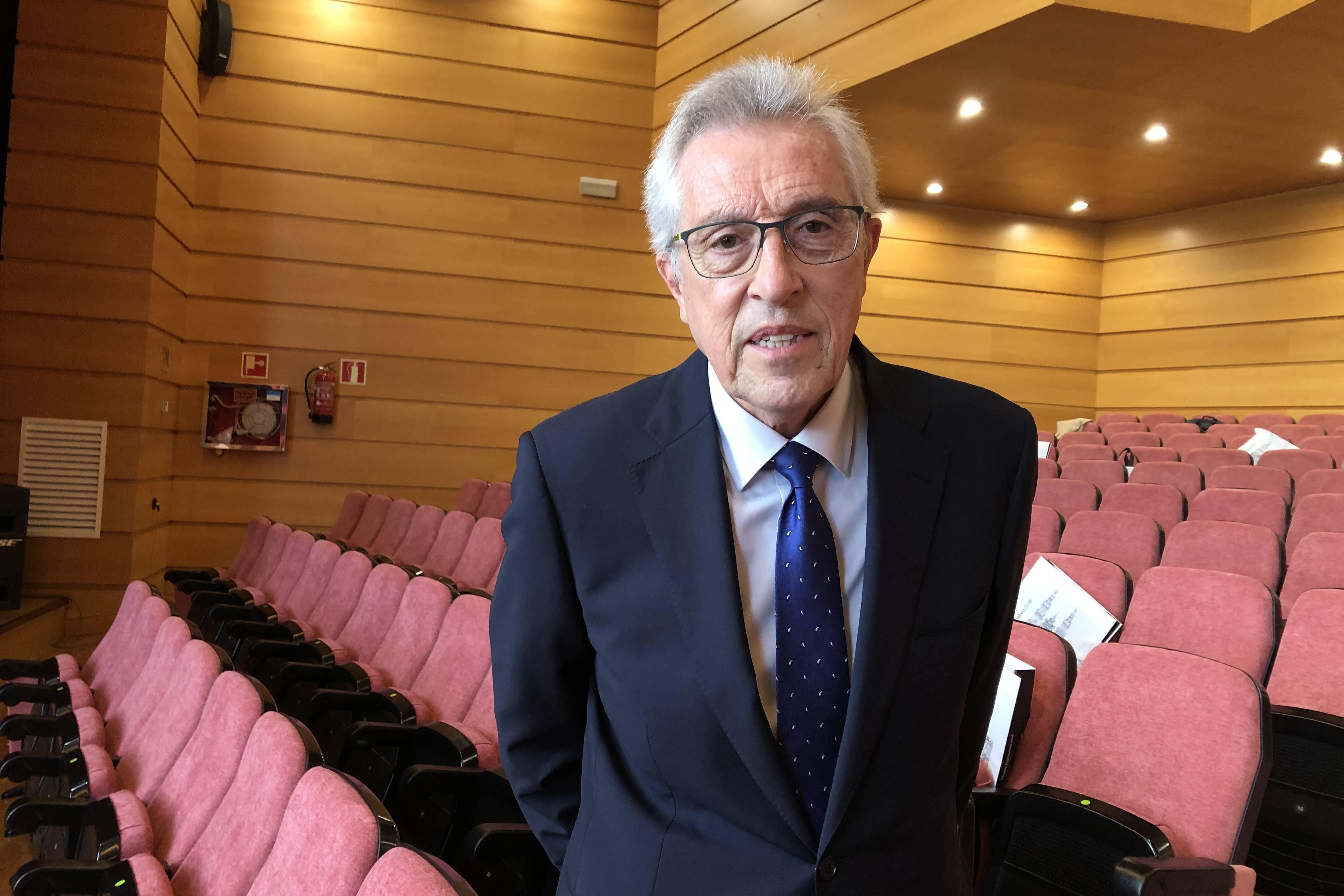 Miguel Ángel Cadenas Sobreira, expresidente del Tribunal Supremo de Justicia de Galicia