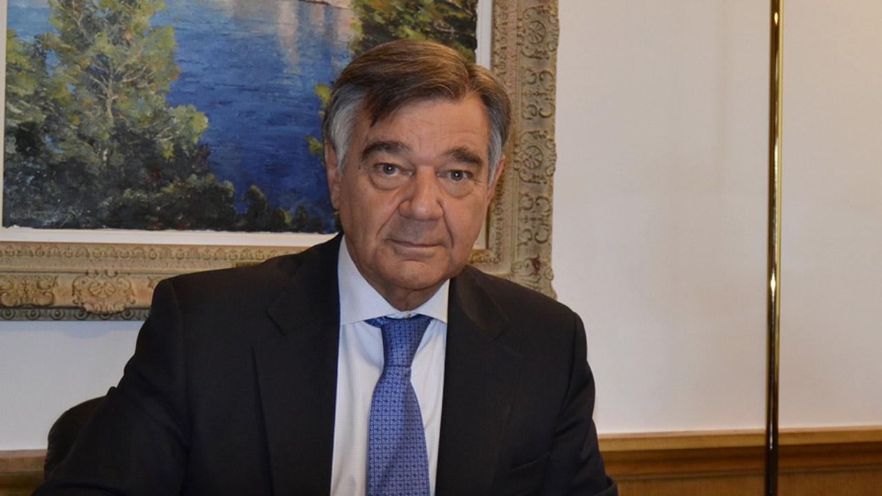Luis González D�ez, presidente del COF de Madrid.
