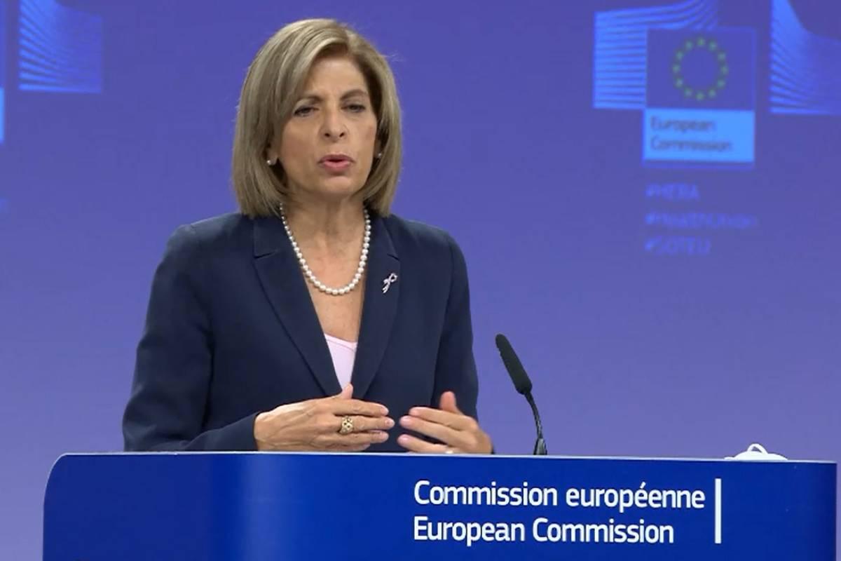 Stella Kyriakides, comisaria europea de Salud y Seguridad Alimentaria.