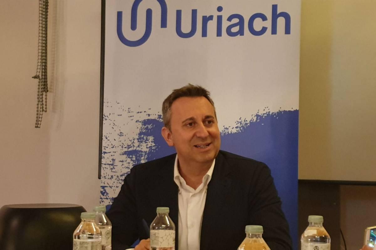 Oriol Segarra, consejero delegado de Uriach, en una foto de archivo.