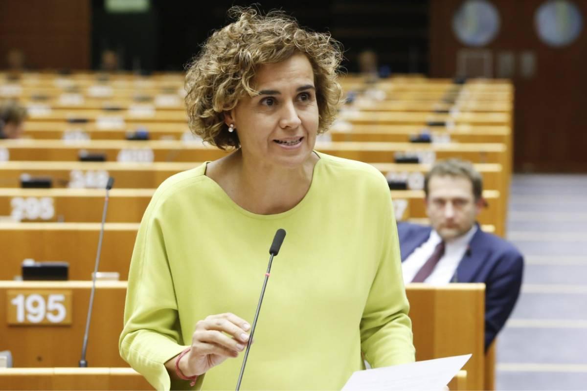 Dolors Montserrat, portavoz del Partido Popular en el Parlamento Europeo y ponente de la estrategia.
