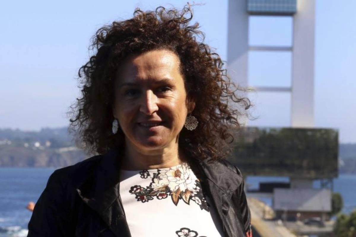 Josefa Cantero, presidenta saliente de Sespas, en el paraninfo de la Universidad de A Coruña, durante la celebración del XXIX Congreso de Juristas de la Salud. Fotos: Rosa González