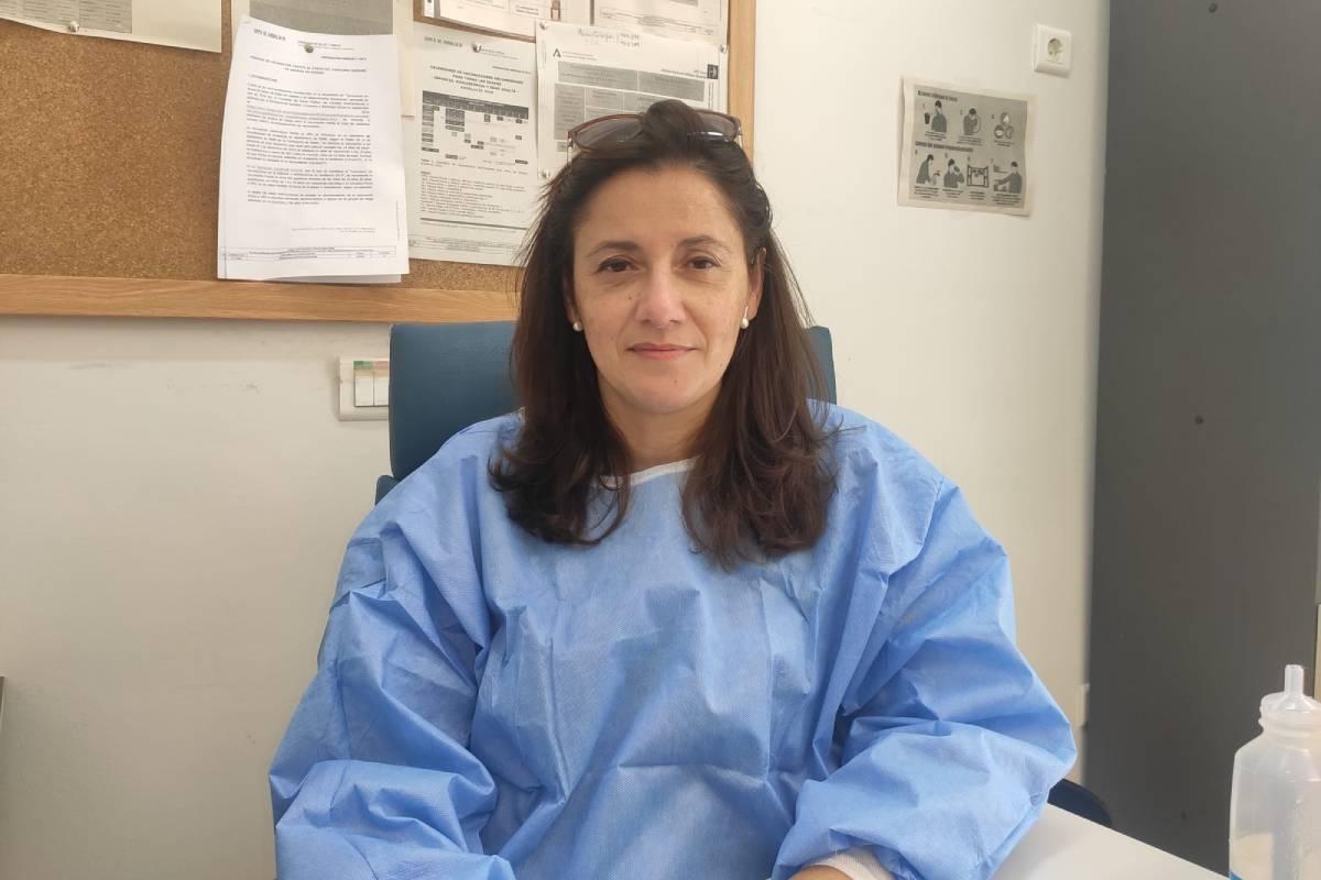 Magdalena Cuevas Fernández-Gallego trabaja en el centro de salud Portada Alta, que pertenece al Distrito Sanitario Málaga-Valle del Guadalhorce, y gestora de casos en AP.