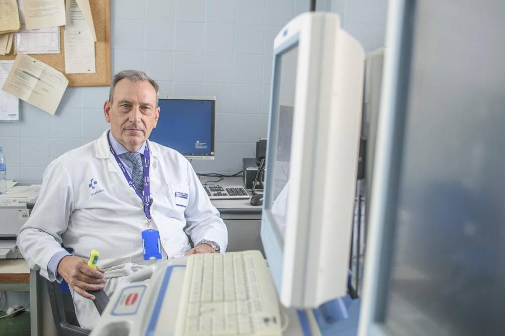 Txantón Martínez-Astorquiza, presidente de la Sociedad Española de Ginecología y Obstetricia (SEGO) y jefe de Servicio en el Hospital Universitario de Cruces, en Bilbao, en una foto de 2019.