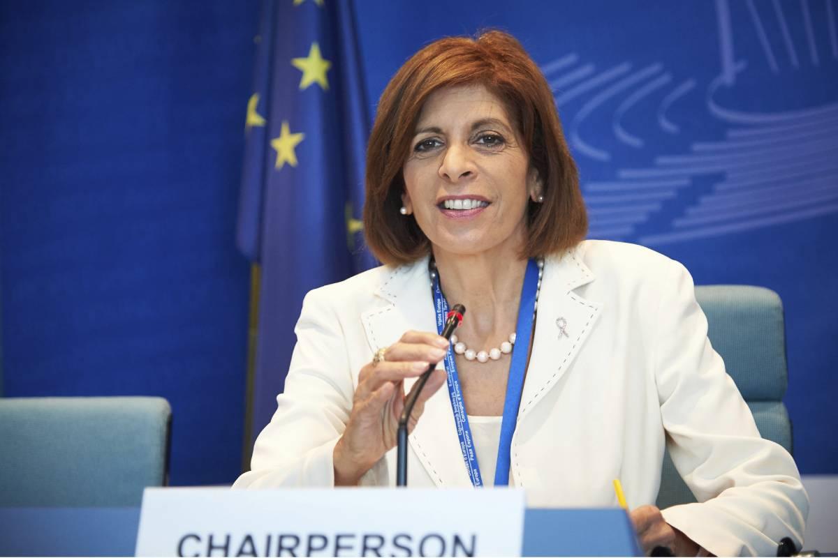 La comisaria europea de Sanidad, Stella Kyriakides, se ha reunido con los ministros de Salud de a la UE en un consejo informal en Eslovenia. Foto: Antonio Heredia
