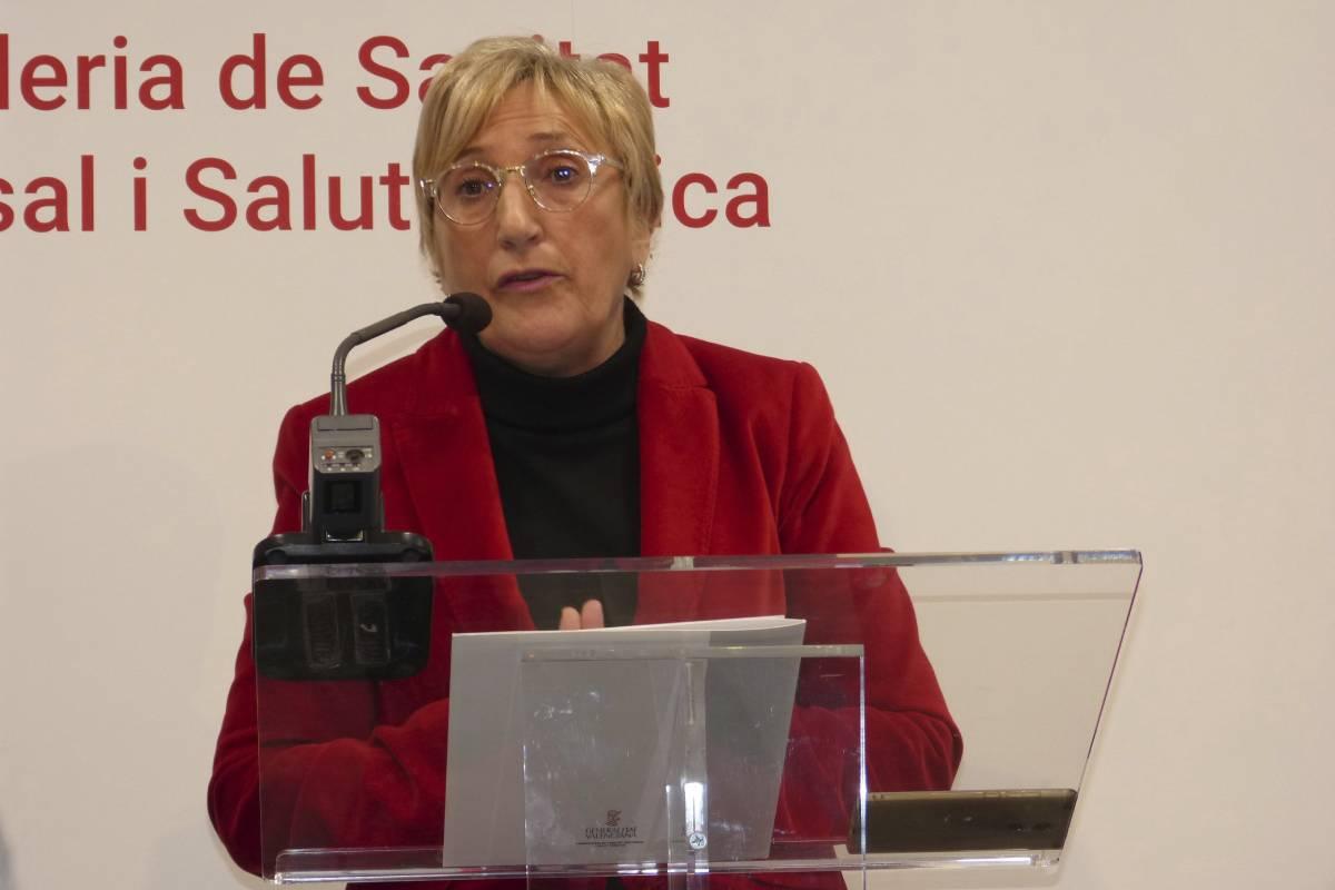 Ana Barceló Chico, consejera de Sanidad de Valencia.