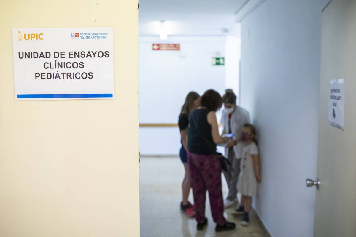 Unidad de Ensayos Clínicos Pediátricos del Hospital 12 de Octubre de Madrid (FOTO: Bernardo Díaz).