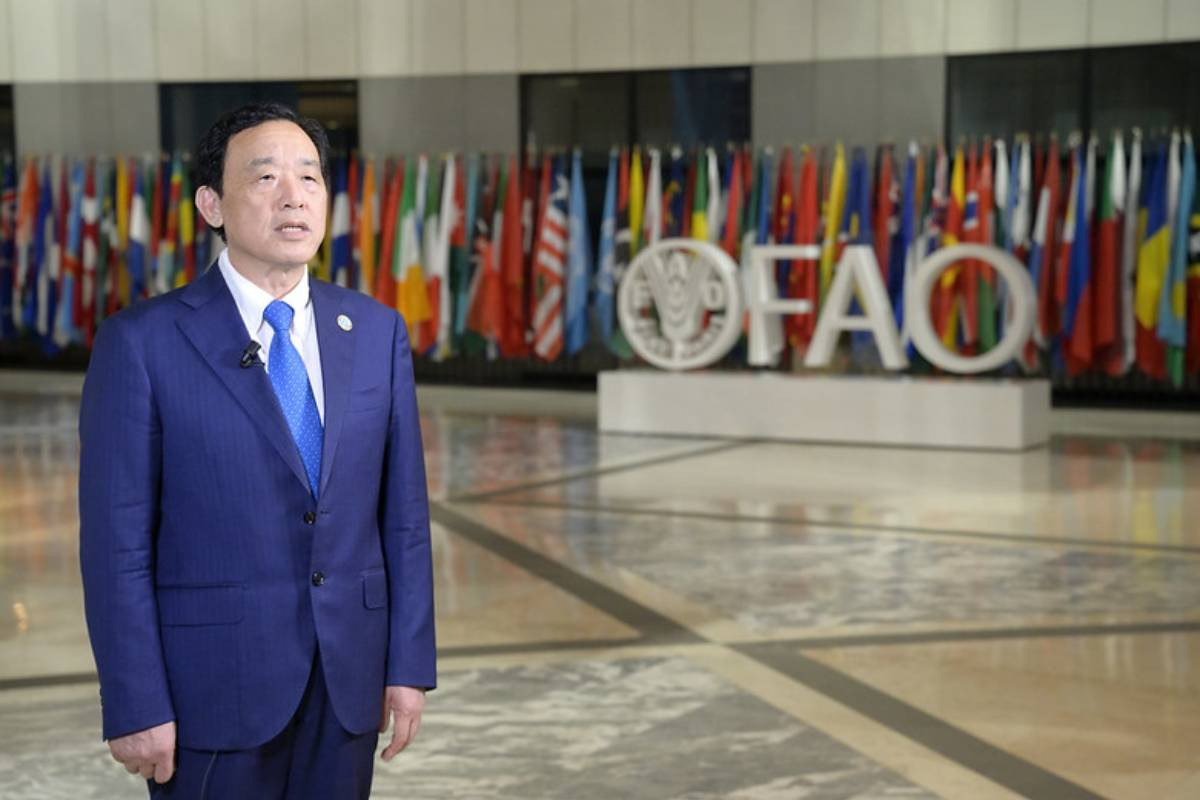 QU Dongyu, director general de la de la Organización de las Naciones Unidas para la Alimentación y la Agricultura (FAO). /FAO.