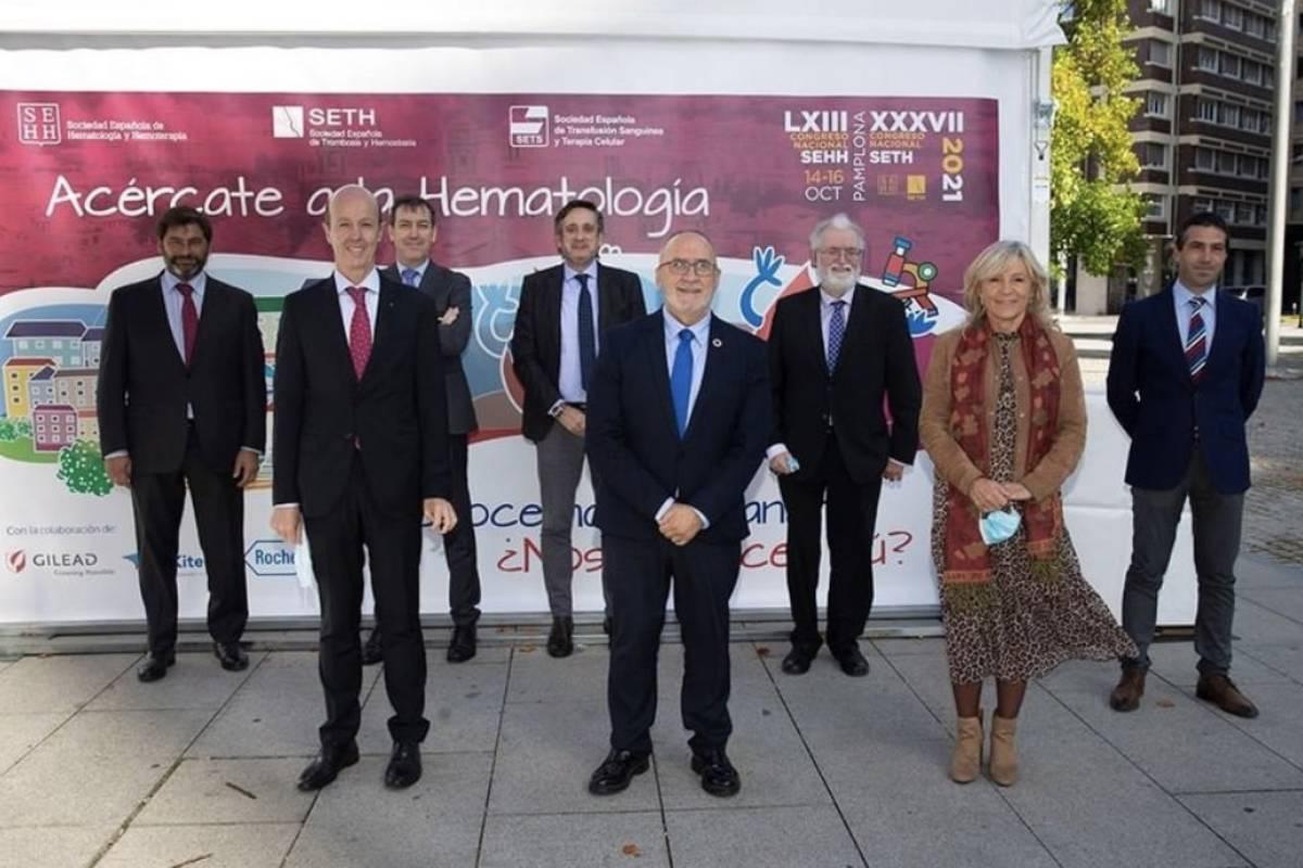 Miembros del comité organizador y científico del Congreso de la SEHH y SETH.