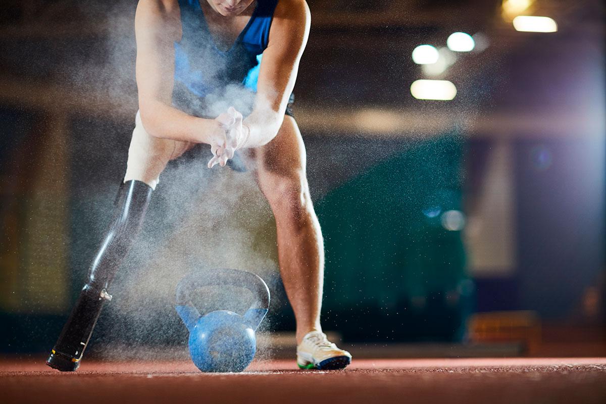 Es en la discapacidad física donde más evidente es la aportación del desarrollo de tecnología e innovación, por ejemplo con ortoprótesis, para el deporte de alto rendimiento.