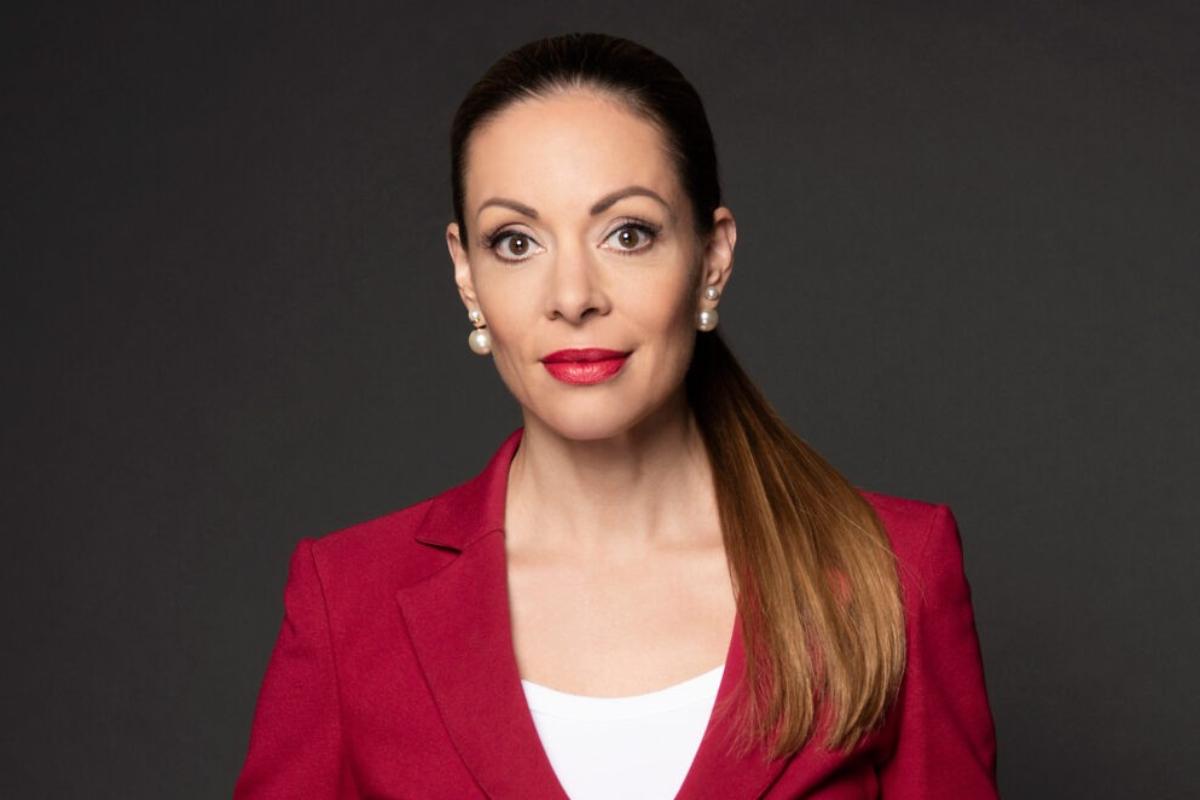 Rebecca Guntern, directora de Sandoz Europa y presidenta interina de Medicines for Europe.