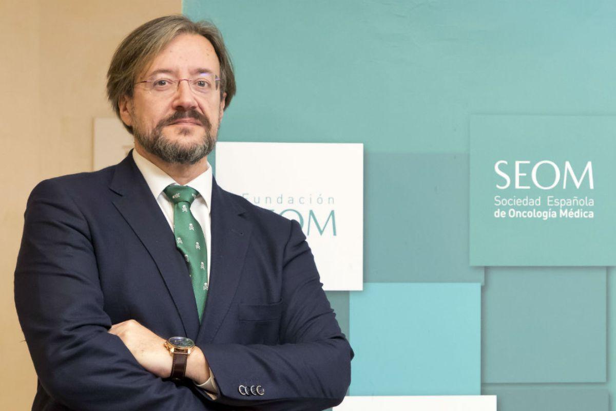 Álvaro Rodríguez-Lescure, presidente de SEOM, considera que la innovación en cáncer no se puede demorar. FOTO: DM.