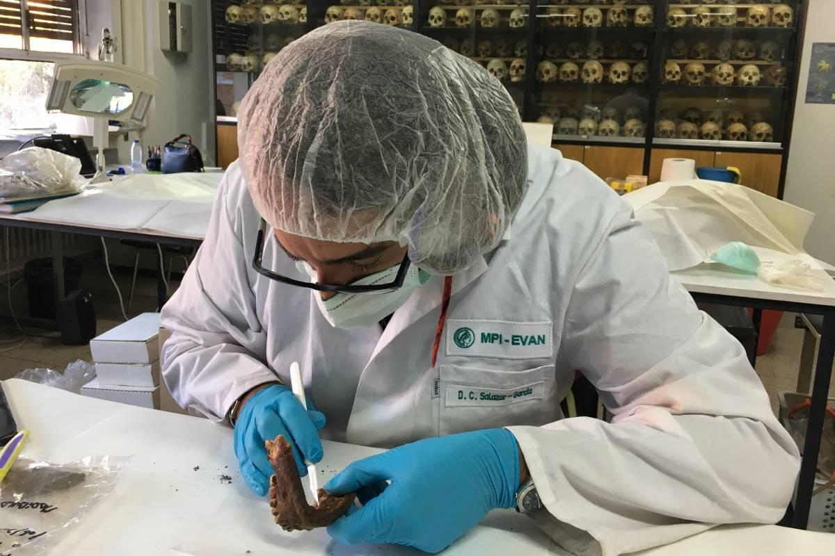 Domingo Carlos Salazar, investigador del Departamento de Prehistoria, Arqueología e Historia Antigua de la Universidad de Valencia (UV).