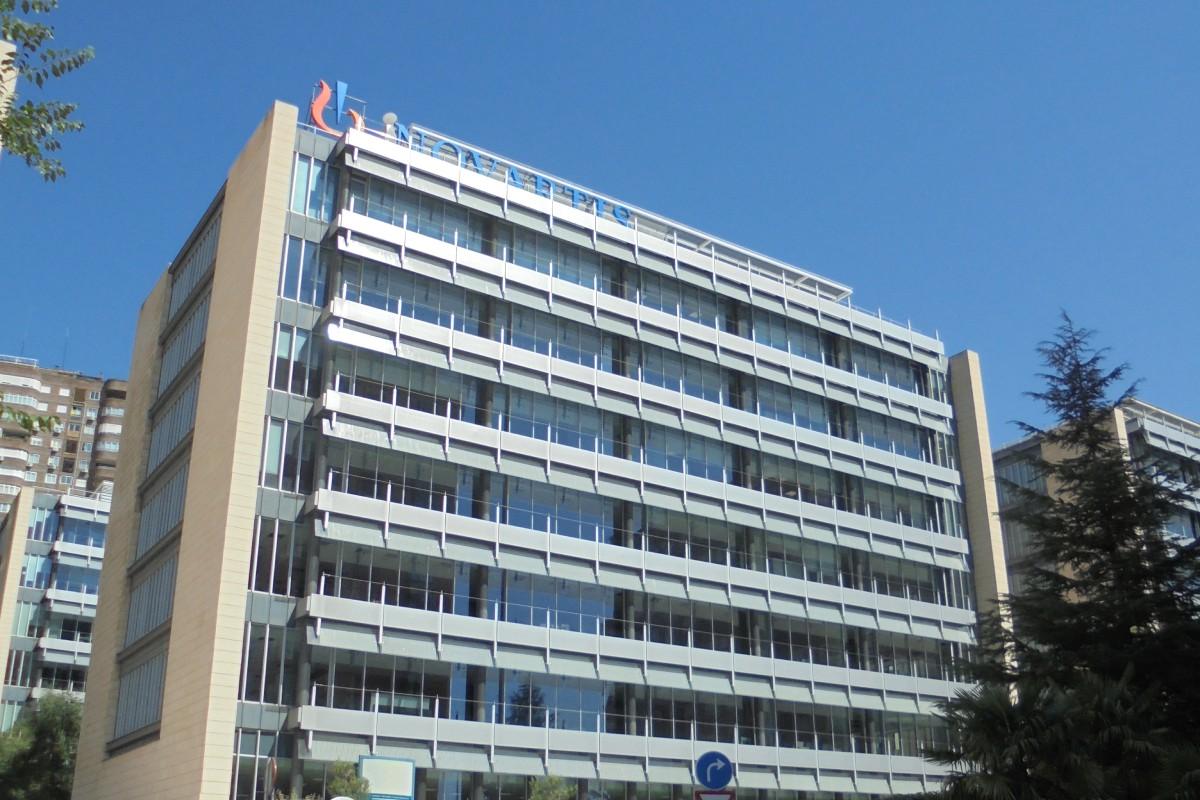 Oficinas de Sandoz (Grupo Novartis) en Madrid.