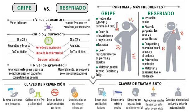 gripe o gripa diferencias