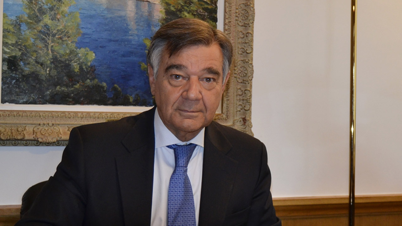 Luis González, presidente del COF de Madrid.