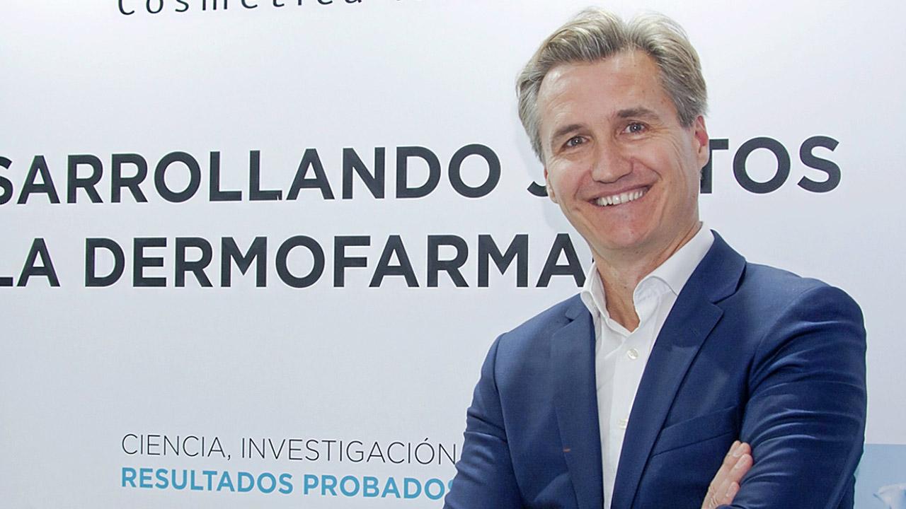 Philippe Mottard, director general de L'Oréal Cosmética Activa.