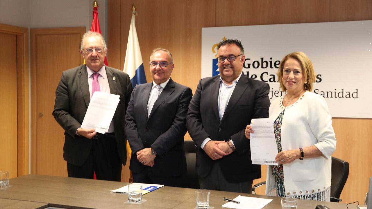 José Ángel Rodríguez, José Manuel Baltar, Conrado Domínguez y Tensy Calero, durante la presentación.