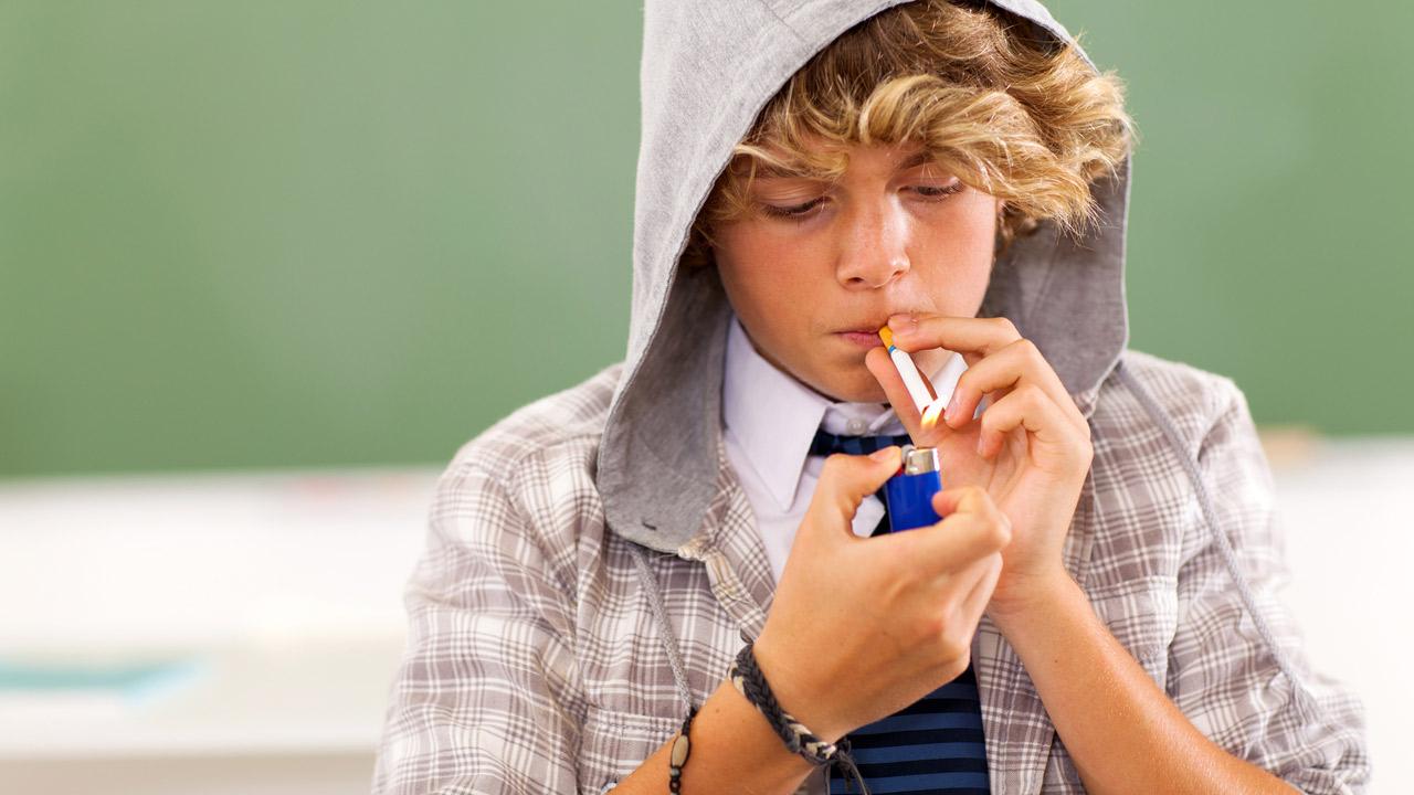 El tabaco en los jóvenes.