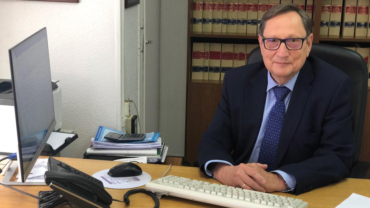Eugenio Fernández López, responsable del Departamento Laboral de Orbaneja Abogados