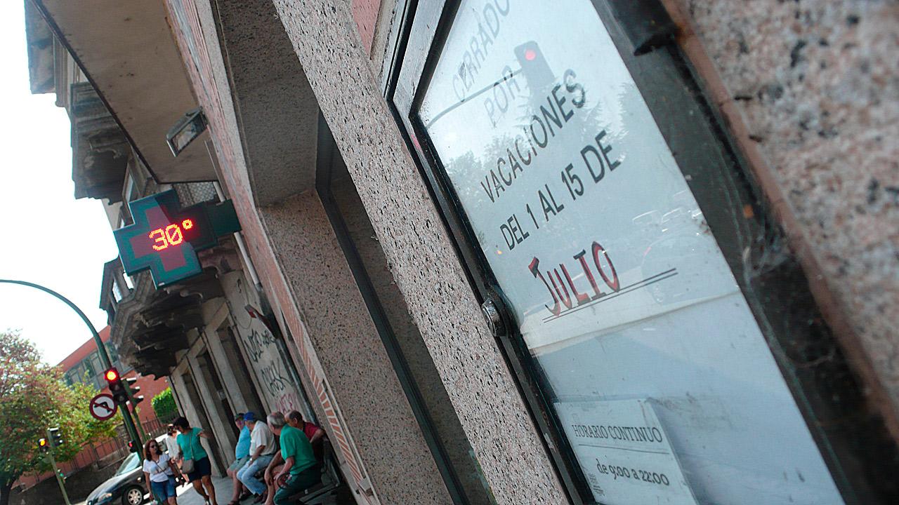 Farmacia Álvarez Gómez, en Arenas de San Pedro (Ávila)