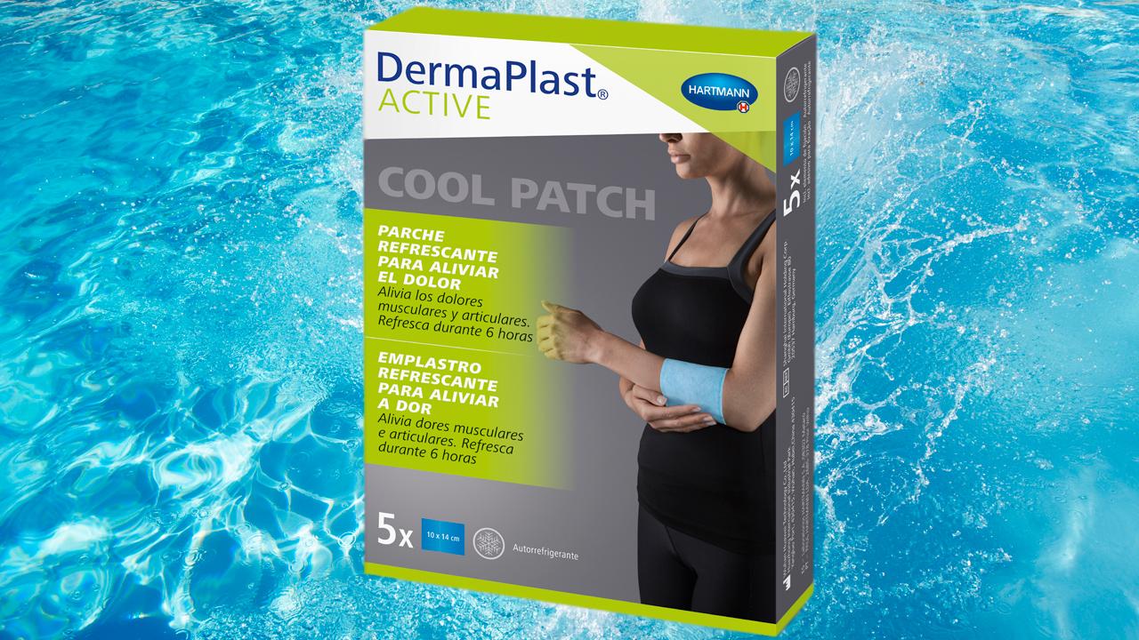 'DermoPlast ACTIVE Cool Patch', nuevo lanzamiento de Hartmann.