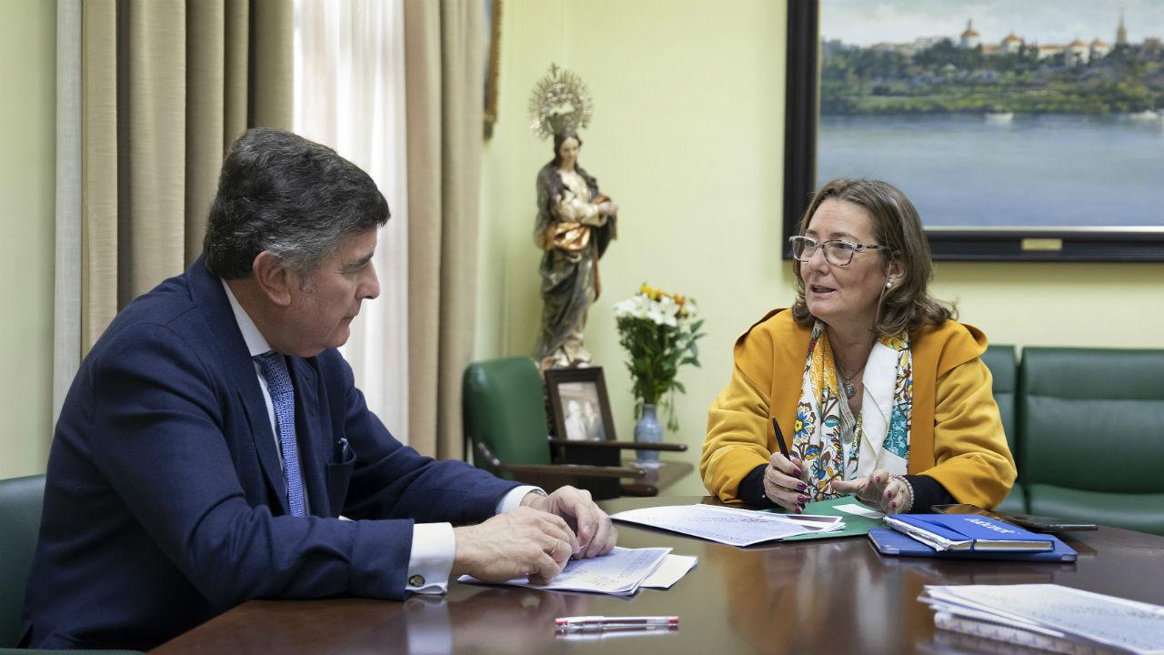 Manuel Pérez y Regina Serrano